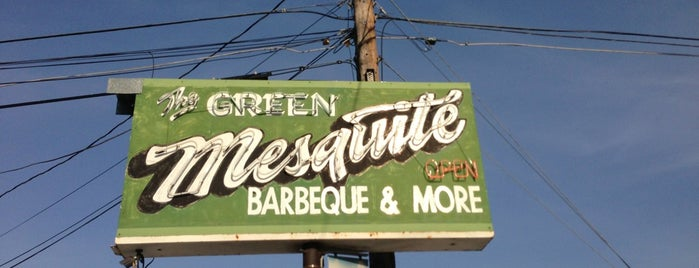 Green Mesquite BBQ is one of Austin to-dos.