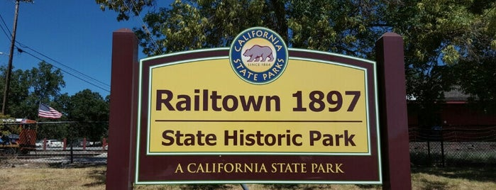 Railtown 1897 State Historic Park is one of Northern California Railfans' List.