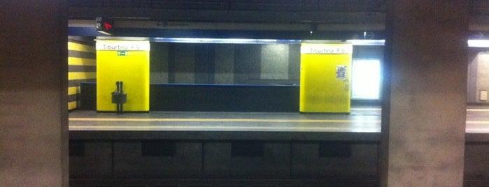 Metro Tiburtina (MB) is one of Muoversi a Roma.