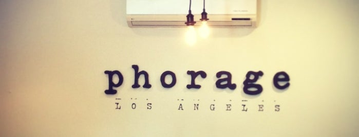 Phorage is one of Los Angeles.