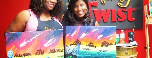 Painting With A Twist is one of Alternatives to The Usual.