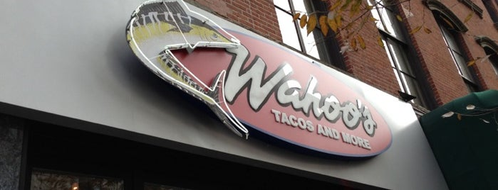 Wahoo's Tacos & More is one of Latin food and drinks in NYC.