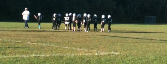 Gardner High School-NC Panthers Practice is one of 4 my boys <3.