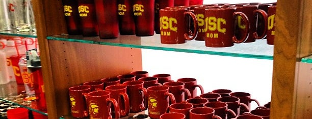 USC Bookstore (BKS) is one of Celebrity Hangouts.