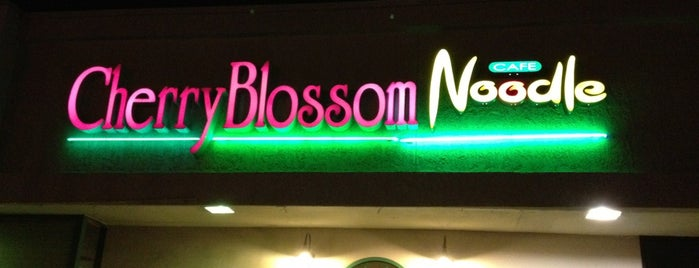 """Cherryblossom Noodle Cafe is one of Featured on PBS' """"Check, Please! Arizona""""."""