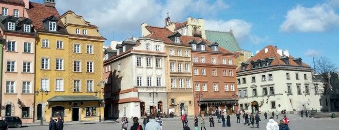 Rynek Starego Miasta | The Old Town Market is one of Free hotspot WiFi Warszawa.