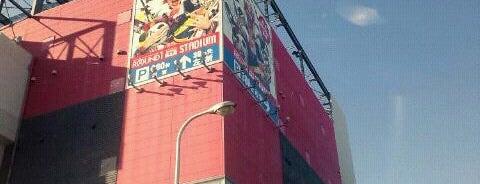 ラウンドワンスタジアム 城東放出店 is one of 関西のゲームセンター.