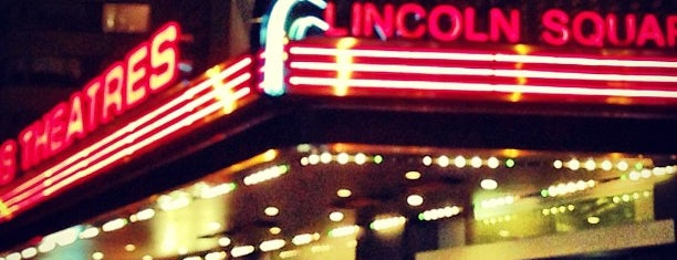 AMC Loews Lincoln Square 13 is one of Faves.