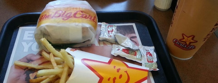 Carl's Jr. is one of My places.