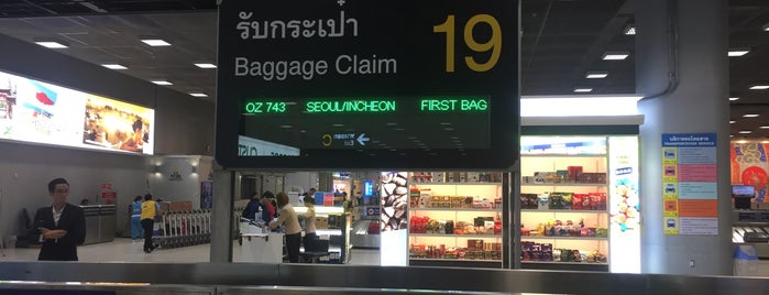 Baggage Claim 19 is one of TH-Airport-BKK-1.