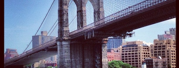 Brooklyn Bridge is one of New York New York.