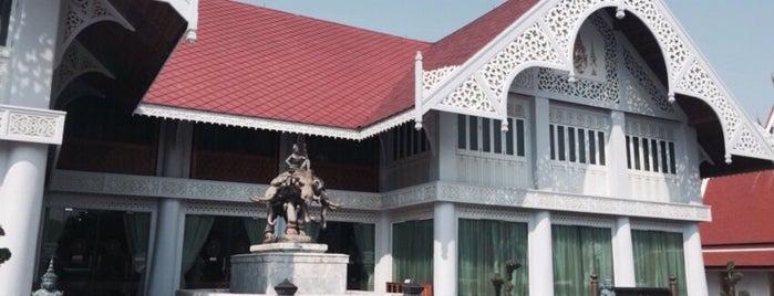 พิพิธภัณฑ์สักทอง (Golden Teak Museum) is one of M-TH-18.