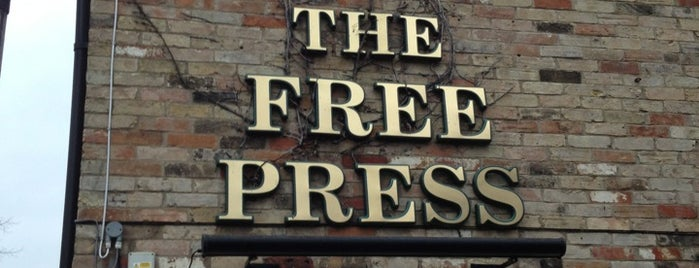 The Free Press is one of Must-visit Pubs in Cambridge.