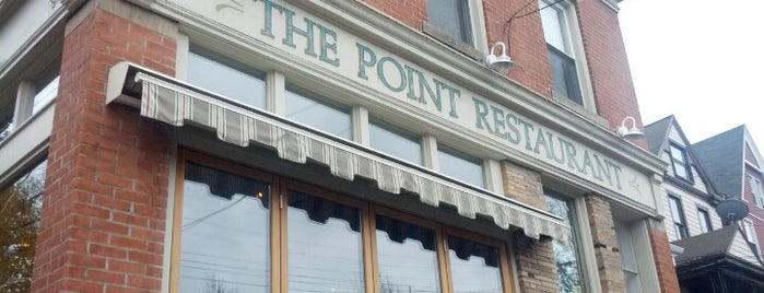 Point Brugge Café is one of Best Restaurants in the Burg.