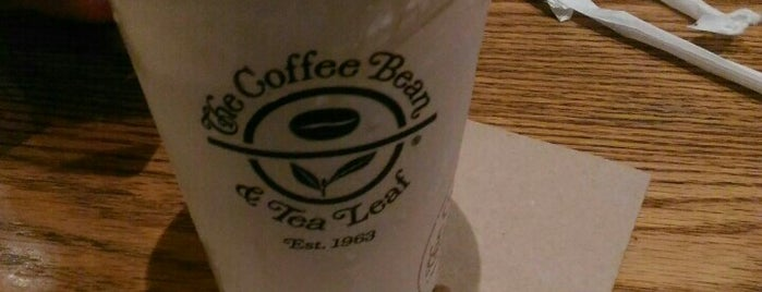 The Coffee Bean & Tea Leaf is one of My fave places.