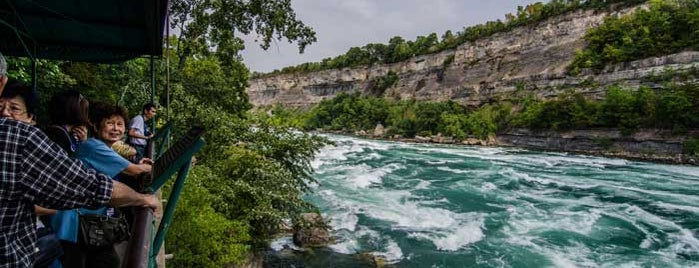 white water walk is one of NiagaraFallsTourism's Tips.