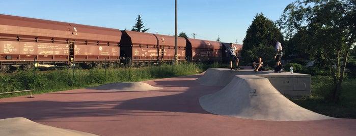 Skatepark Radotín is one of Brusle.