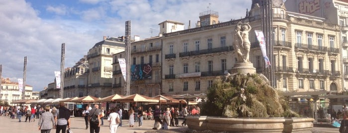 Place de la Comédie is one of 36 hours...in Montpellier.