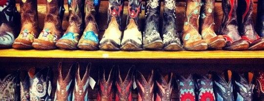Allens Boots is one of Hook 'Em Horns- Austin.