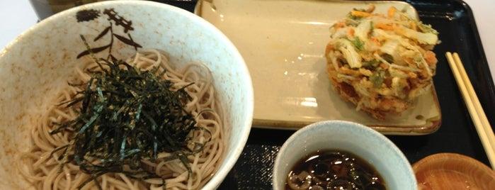 蕎麦かっぽう あずみ野 羽田空港第2ビル店 is one of 飲食店.