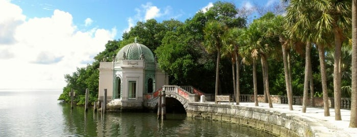 Vizcaya Museum and Gardens is one of Galleries + Museums.