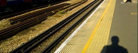 Preston Road London Underground Station is one of Tube Challenge.