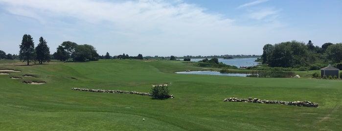 Weekapaug Golf Club is one of people + places: SO, RI.