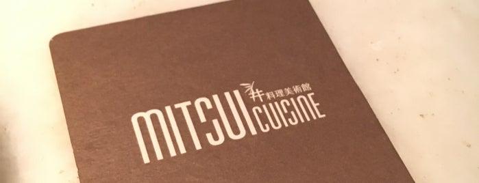 三井日本料理 Mitsui Cuisine is one of Taiwan.