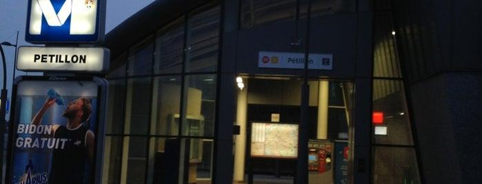 Pétillon (MIVB / STIB) is one of Métros.