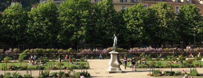 Jardin de Ville is one of Top 10 favorites places in Grenoble, France.
