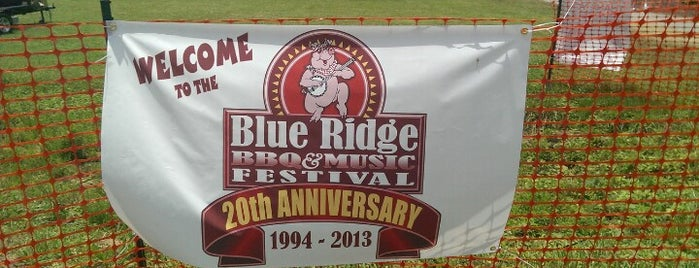Blue Ridge BBQ & Music Festival is one of Places I want to Visit!.