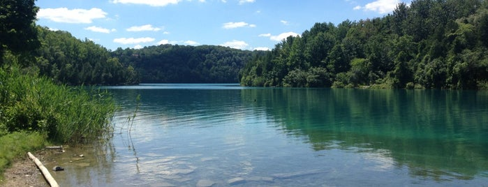 Green Lakes State Park is one of Favorites.