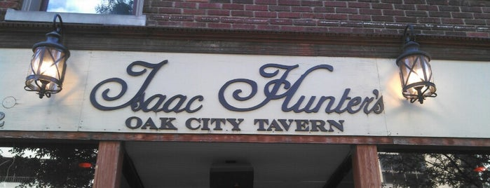 Isaac Hunter's Oak City Tavern is one of Top Raleigh Beer Bars.
