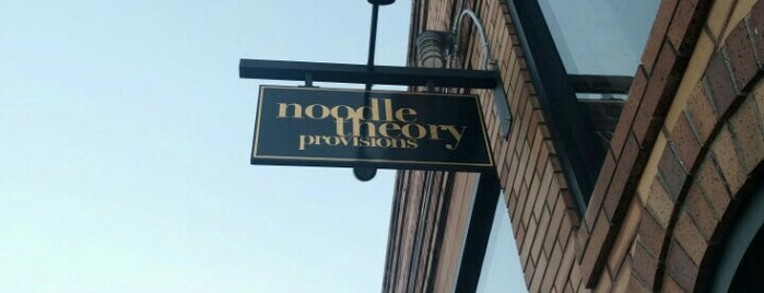 Noodle Theory Provisions is one of 510 Area.