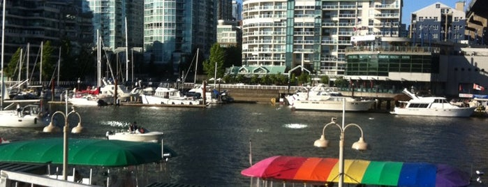 Aquabus Granville Island Dock is one of Vancouver on the Cheap — Family Edition.