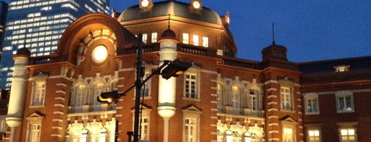 JR Tokyo Station is one of JR線の駅.