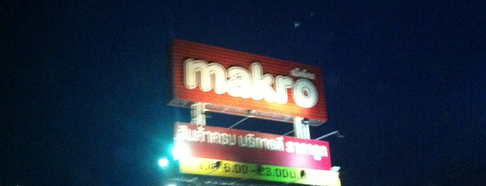 Makro is one of All-time favorites in Thailand.