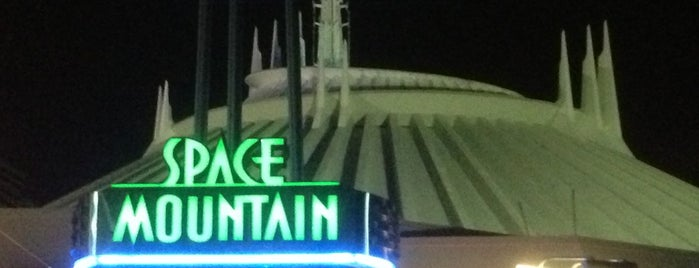 Space Mountain is one of Roller Coaster Mania.