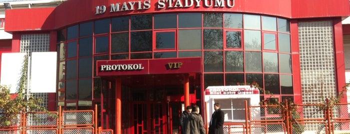 19 Mayıs Stadyumu is one of swarm and super swarm.