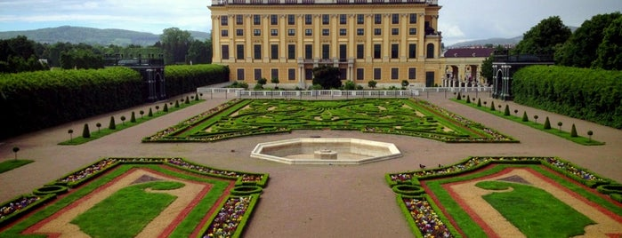 Schonbrunn Palace is one of Favorite Places Around the World.