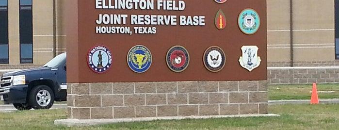 Ellington Air Force Base (Ellington Airport) is one of My places.