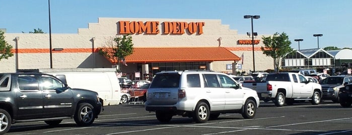 The Home Depot is one of been here.