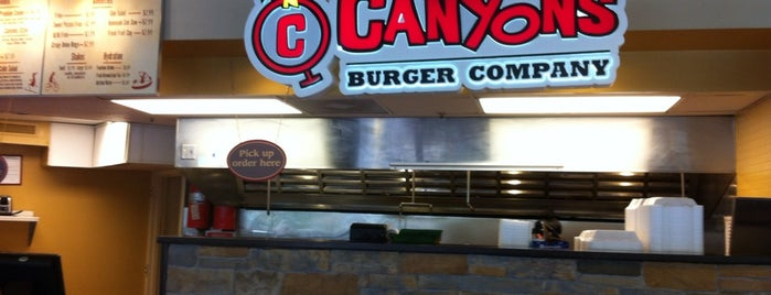 Canyons Burger Company is one of DC Burgers.