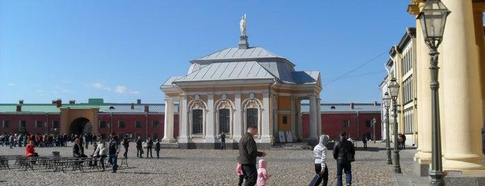 Заячий oстров is one of Санкт-Петербург.