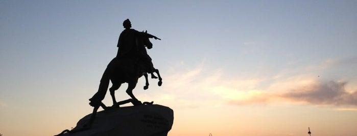 Bronze Horseman is one of Санкт-Петербург.