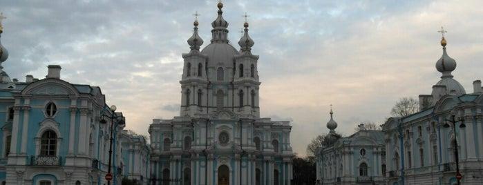 Смольный собор is one of Санкт-Петербург.