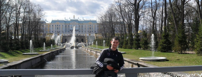 Нижний парк is one of Санкт-Петербург.