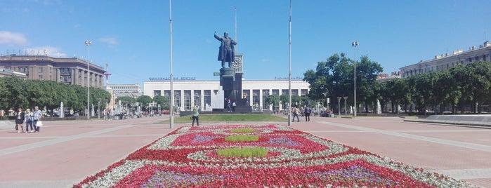 Площадь Ленина is one of Санкт-Петербург.