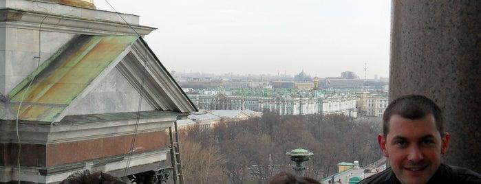 Колоннада Исаакиевского собора is one of Санкт-Петербург.
