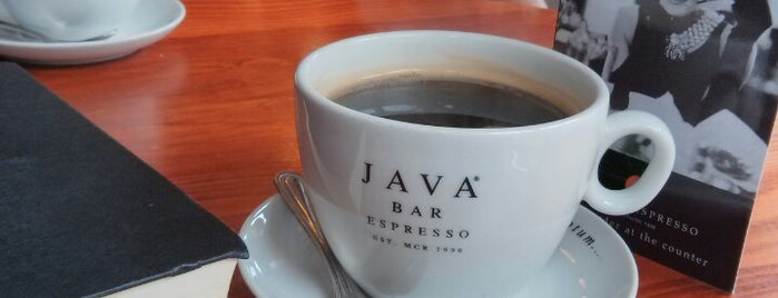 Java Bar Espresso is one of Manchester Coffee Addicts.